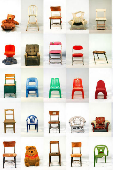 kid chair poster