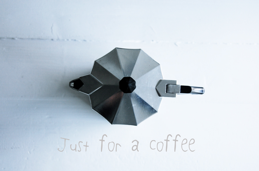just for a coffee